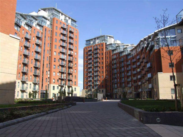 santorini city island leeds flats in leeds city centre